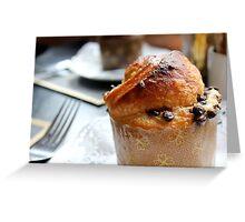yummy muffin Greeting Card