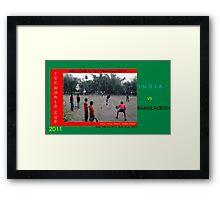 ICC World Cup 2011  Framed Print