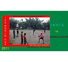 ICC World Cup 2011  Photographic Print