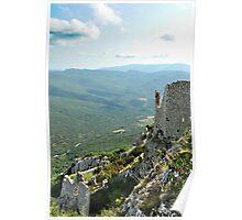Peyrpertuse Castle - D'en Haut II Poster