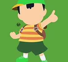 Ness (Green) - Super Smash Bros. by samaran