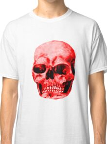 Skull Red The MUSEUM Red Bubble Gifts Classic T-Shirt