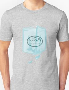 usa california ice cube tshirt by rogers bros T-Shirt