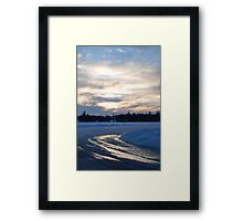 Frozen travels Framed Print