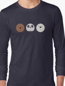 We Bare Bears Long Sleeve T-Shirt