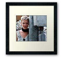 If you forget me... Framed Print