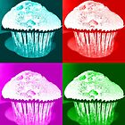 Pop Art Muffins Inverted by blueclover