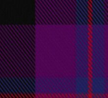 00479 Doyle Blue Tartan  Sticker