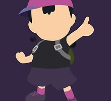 Ness (Purple) - Super Smash Bros. by samaran