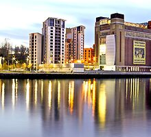 The Baltic and Gateshead Quays by David  Parkin