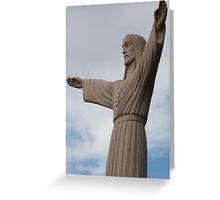 Christ on the Ohio Greeting Card