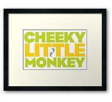 Frasier - Cheeky Little Monkey Framed Print