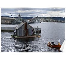Elegant houseboat, anyone? Poster