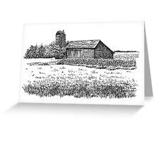 Old Barn, Merrillville, IN  Greeting Card