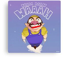 Space Wario Canvas Print