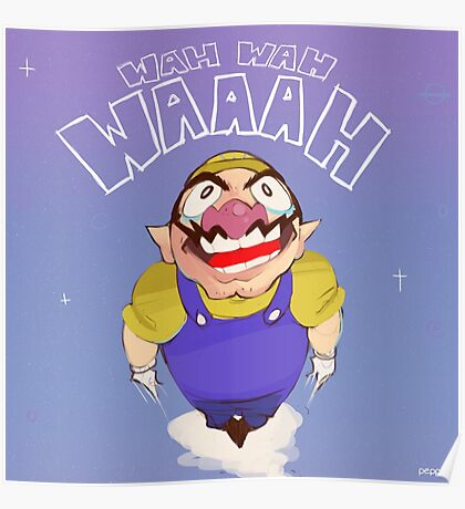 Space Wario Poster
