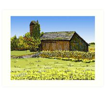 Old Barn, Merrillville, IN Art Print