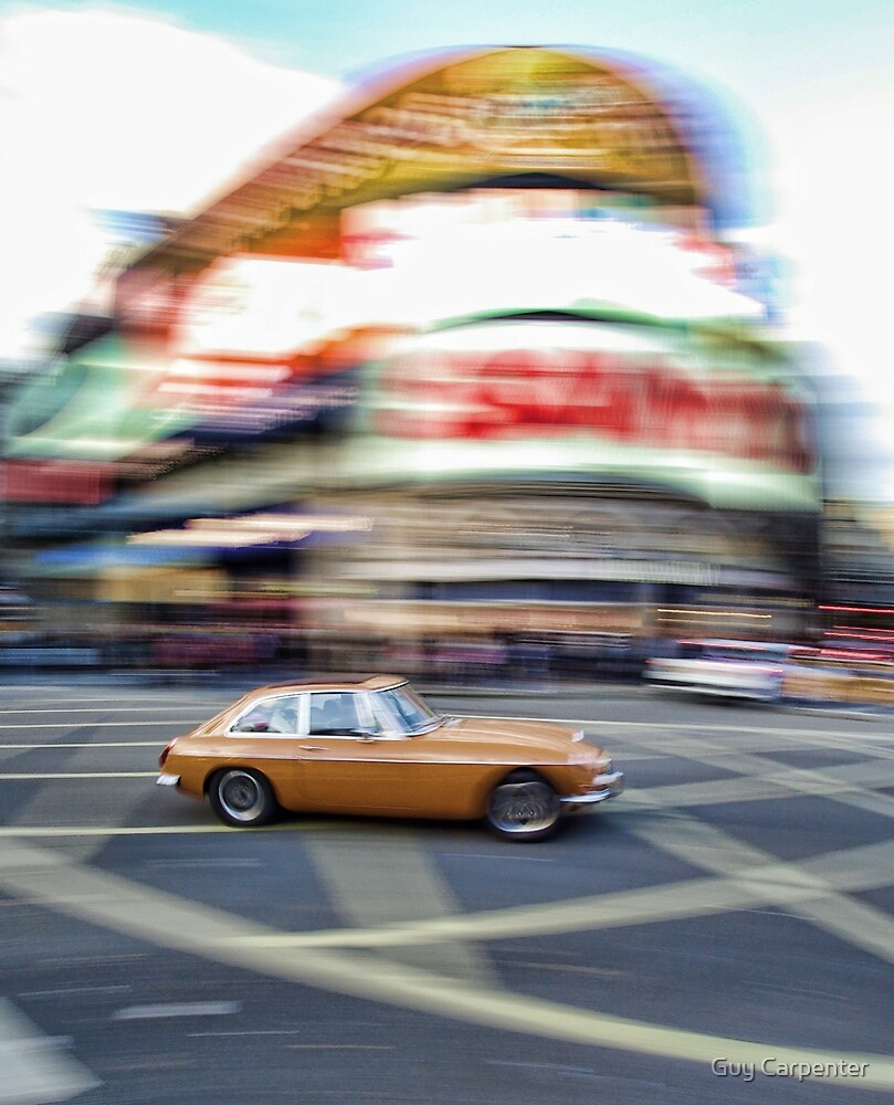 Crossing Picadilly Circus in style by Guy Carpenter
