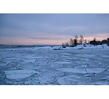 All this ice ... Photographic Print