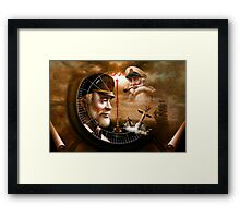 Sea Captain 3 Framed Print
