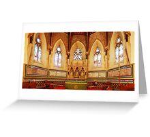 Apsidal Sanctuary, St Mark's Church, Tunbridge Wells Greeting Card
