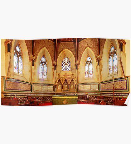 Apsidal Sanctuary, St Mark's Church, Tunbridge Wells Poster