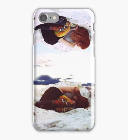 Just a Girl Inside a Voice iPhone Case/Skin