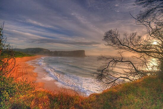 One Fine Day (Landscape) - Avalon Beach, Sydney Australia -The HDR Experience by Philip Johnson