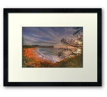 One Fine Day (Landscape) - Avalon Beach, Sydney Australia -The HDR Experience Framed Print