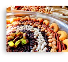 Nuts and Legumes...mmmm Canvas Print