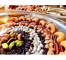Nuts and Legumes...mmmm Photographic Print