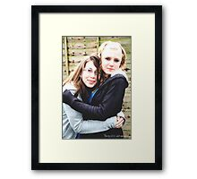 Baby, It's Cold Outside Framed Print