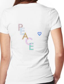 Peace is the Word T-Shirt T-Shirt