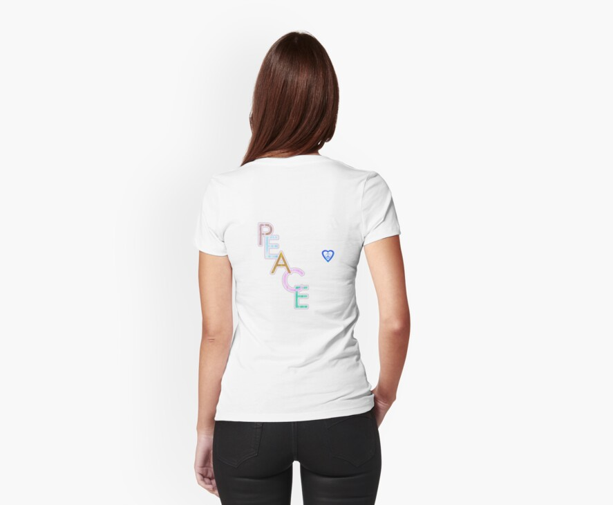 Peace is the Word T-Shirt by simpsonvisuals
