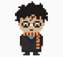 Pixel Harry Potter by natyhiga