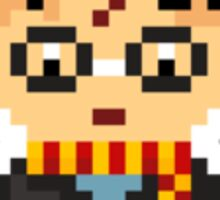 Pixel Harry Potter Sticker