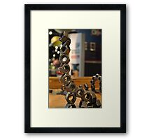 Magnetic Toys Framed Print