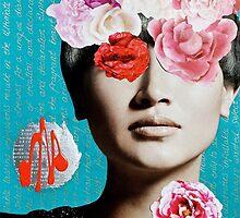 Rose Berry Splash by Kai Phoenix