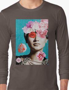 Rose Berry Splash Long Sleeve T-Shirt