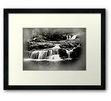 Cradle Mountain Falls Framed Print