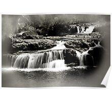 Cradle Mountain Falls Poster