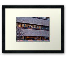Earl Bennett Building Framed Print
