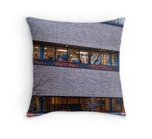 Earl Bennett Building Throw Pillow