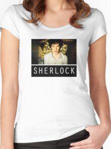 SHERLOCK T-SHIRT Women's Fitted Scoop T-Shirt