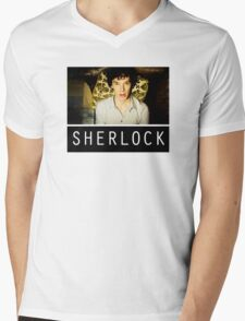 SHERLOCK T-SHIRT Mens V-Neck T-Shirt