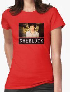 SHERLOCK T-SHIRT Womens Fitted T-Shirt