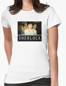 SHERLOCK T-SHIRT Womens Fitted T-Shirt