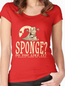 Do you like Sponge? Women's Fitted Scoop T-Shirt