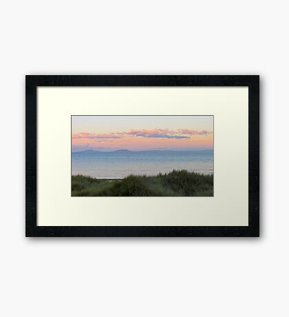 Peirmont @ dusk, Tasmania Framed Print