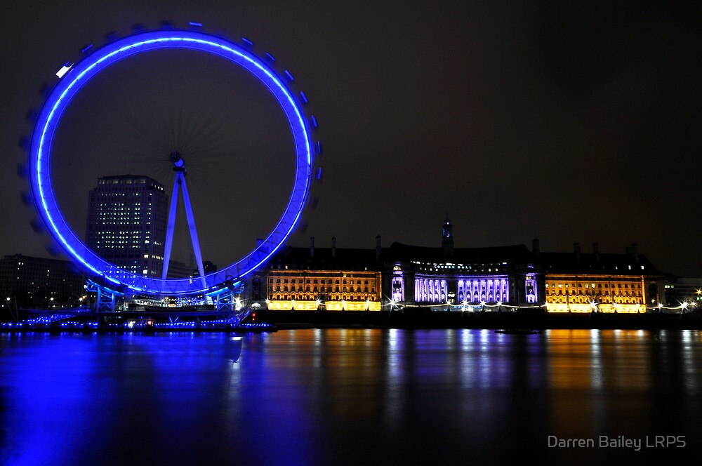 Eye across the Thames by Darren Bailey LRPS